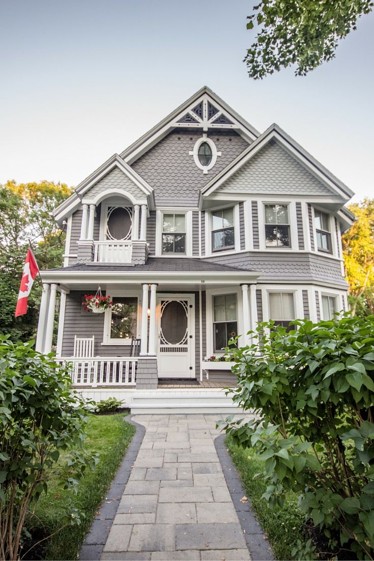 Charlottetown, PEI, Canada has the cutest houses!