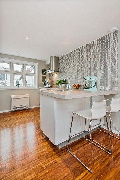 My current apartment - for sale! http://bit.ly/1uh2tYU #kjøkken #kvik #mosaikk #kjøkkenfliser #fliser #mosaqiue #kitchen