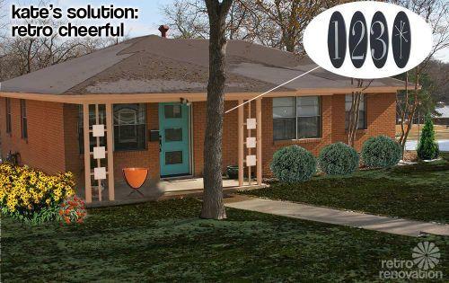 Retro Design Dilemma Paint Colors For Laurie 39 S 1966 Brick Ranch House