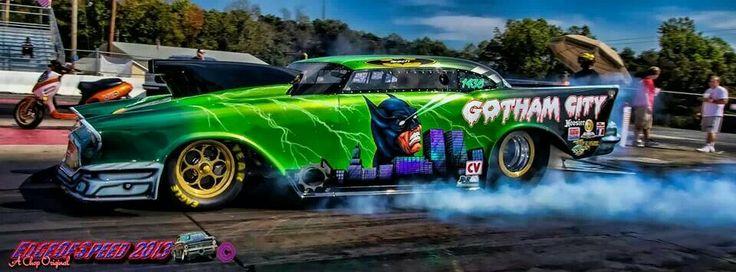 Gotham City 57 Chevy Pro Mod Promod Pinterest Gotham