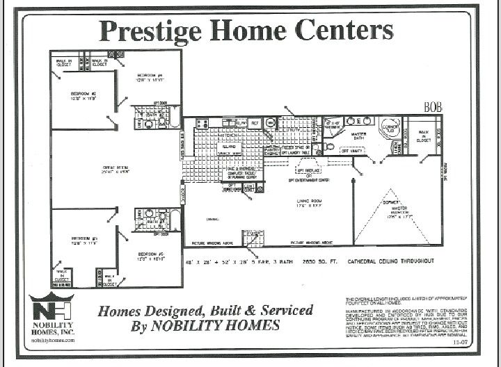 Quadruple Wide Mobile Home Floor Plans | Quadruple Wide