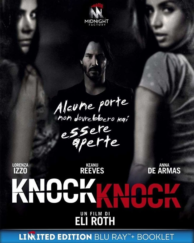 Keanu Reeves Ana De Armas And Lorenza Izzo In Knock Knock 2015 Knock Knock Full Movie Knock Knock Full Movies Online Free