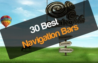 Fantastic 30 navigation designs