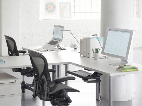 An Original Design By Bill Stumpf And Don Chadwick, This Ergonomic Office  Chair Is Manufactured By Herman Miller.