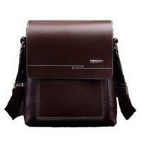 Wish | Men PU Leather Office Bag For Man Causal Business Bag Men's Crossbody Bag