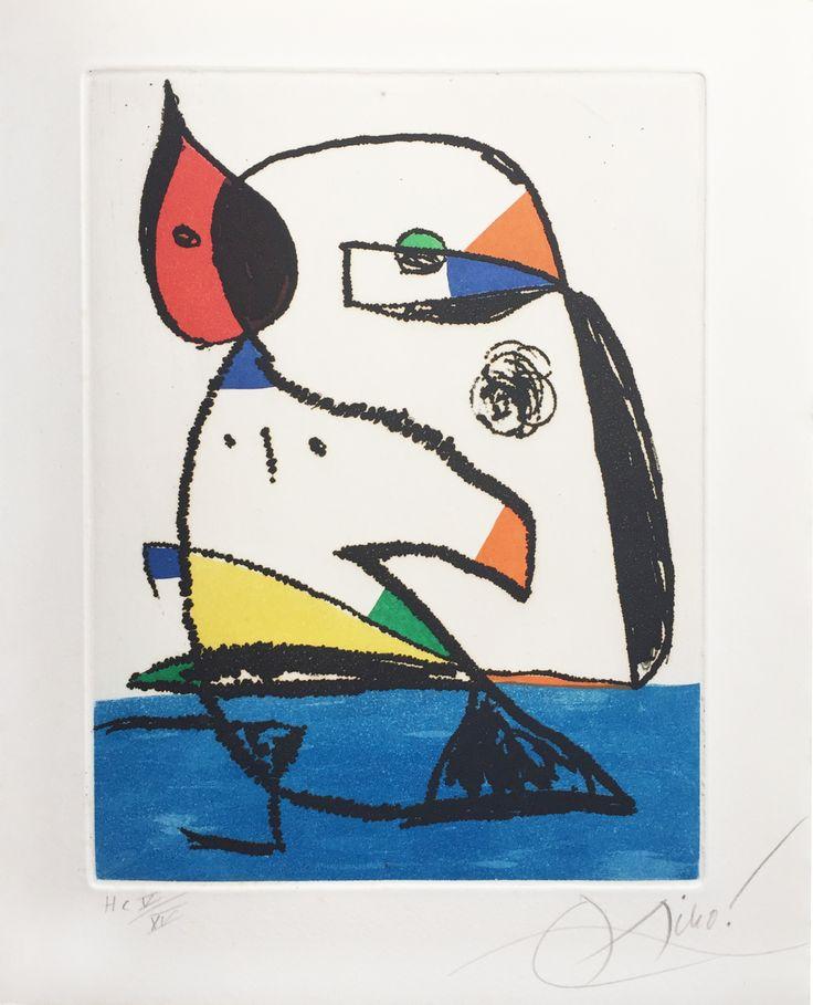 """Joan Miró """"Joan Miró. Carnets Catalans"""" - (Joan Miró. Catalan Notebook) Libro + Grabado al Aguafuerte y Aguatinta Año: 1977 Dimensiones: 30 x 24 cm Incluye libro de 157 páginas con el mismo título. Tirada de 60 ejemplares + 15 HC en números romanos. Firmado y numerado HC a mano. Dupin 977. Cramer 231 Precio: Consultar Web Web: www.grabadosylitografias.com Más información: galeria@grabadosylitografias.com"""