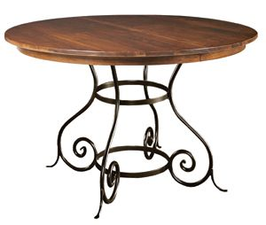 Delightful Buy The Charleston Forge Wood Top Euro Dining Table For Sale At Carolina  Rustica.