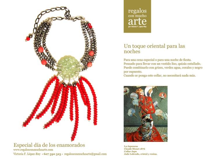 Collar japo   $180 - 140€  www.regalosconmuchoarte.com VENDIDO
