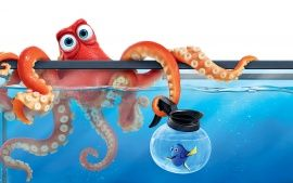 Finding Dory Hank Octopus                                                                                                                                                     More