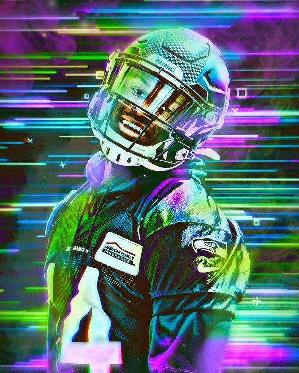 An Edit Of Dk Metcalf By Me Seahawks Nfl Football Wallpaper Seattle Seahawks Football Nfl Football Art