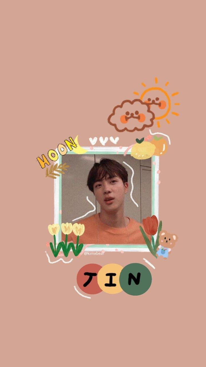 Bts Seokjin Kidcore Aesthetic Wallpaper Bts Wallpaper Seokjin Bts Bts Jin