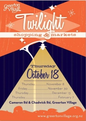 Twilight Shopping & Markets 2012