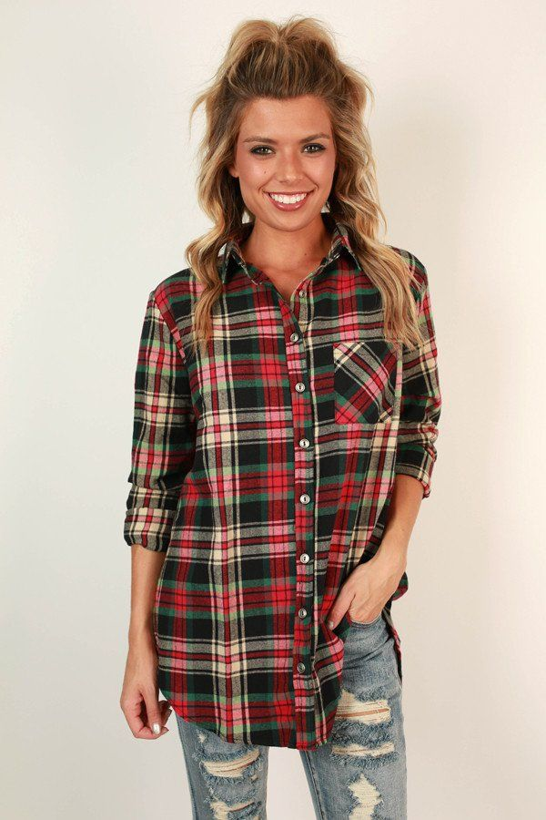 Time to Get Cozy Flannel