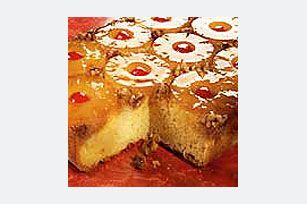 Dream Pineapple Upside-Down Cake recipe........I always make this in a large round cast iron pan it is the traditional way