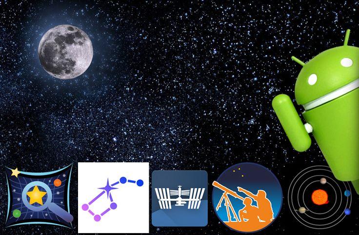 Průvodcem hlubokým i blízkým vesmírem vám může být telefon nebo tablet s Androidem. Dnes vám představíme pět aplikací pro pozorování noční oblohy.