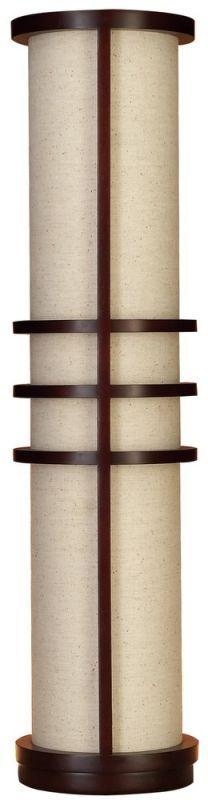 Aspire Home Accents 58806 Joss Modern Floor Lamp Cherry / Beige Lamps Floor Lamps