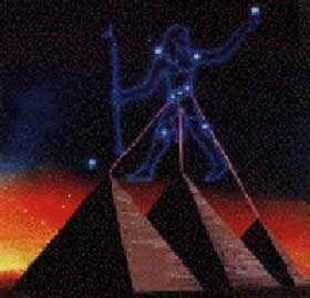 Arqueologia sob outra visão: Cinturão de Órion e as Pirâmides: