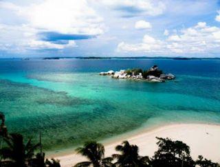 Di Kep. Fiji nih? Bukan , ini di Pulau Bangka Belitung