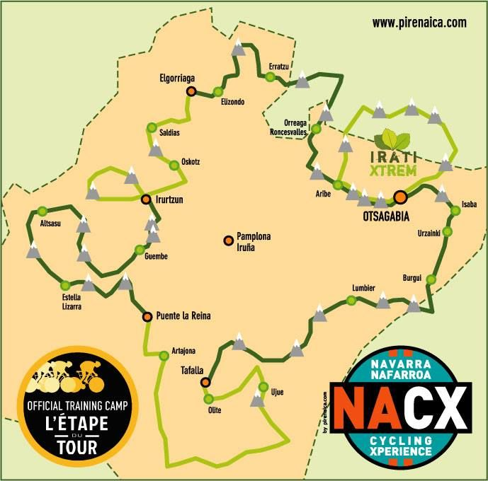 Navarra Cycling Xperience course, 5 stages + Irati Xtrem www.pirenaica.com