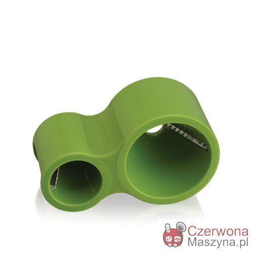 Obierak dekoracyjny Microplane, zielony - CzerwonaMaszyna.pl