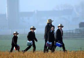 Months After Tragedy, Amish Children Get New Schoolhouse