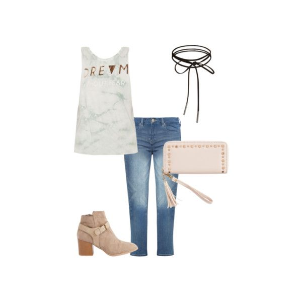 Dream Foiled Tie Dye Muscle Tank Top | Graphic Tanks | rue21 ❤ liked on Polyvore featuring tops, tie dyed tank tops, white muscle tank, graphic tops, white tank top and tie-dye tank tops