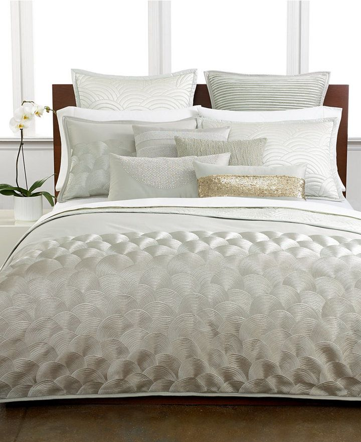 Hotel Collection, Seafan Quilted Queen Sham - home and ...