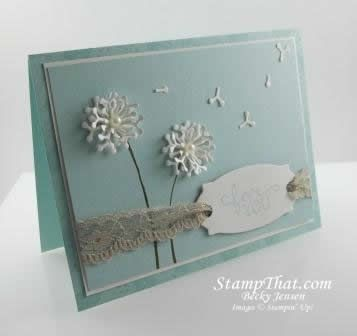 Botanical Builders Thinlits Birthday Blooms stamp set