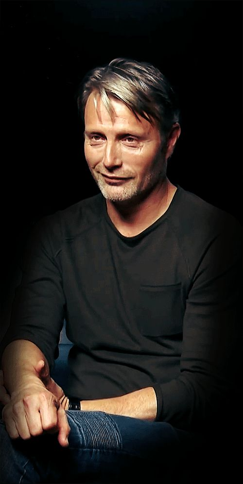 That's a powerful gaze, Mads... wield it carefully cause it's a panty-dropper!