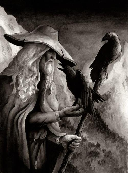 """...Worship of Odin may date to Proto-Germanic paganism. The Roman historian Tacitus may refer to Odin when he talks of Mercury. The reason is that, like Mercury, Odin was regarded as Psychopompos, """"guide of souls."""""""