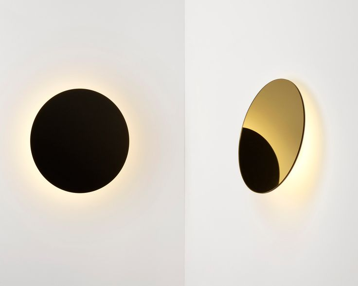 With it's unique hinged disk, Ross Gardam's Polar Wall Light has the ability to cleverly manipulate light and shadow within any space.