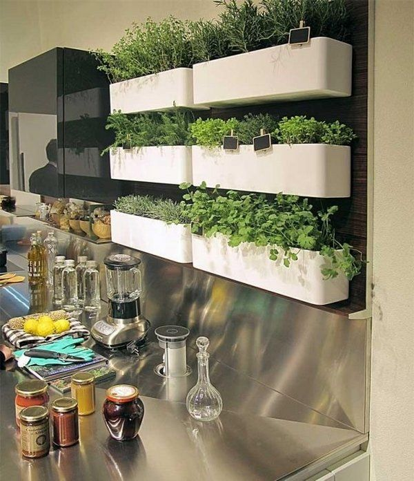 Kitchen Herb Garden Indoor: Best 25+ Kitchen Window Sill Ideas On Pinterest