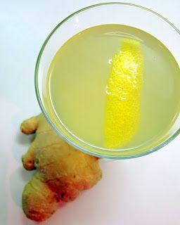 Dragon's Kitchen: Ginger, Lemon & Honey Tea - GREAT non-caff tea, love it iced or hot!
