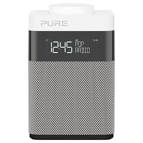 Buy Pure Pop Mini DAB/FM Portable Digital Radio, Grey Online at johnlewis.com
