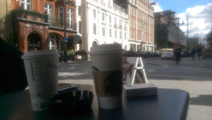 Starbucks, London. #Travel