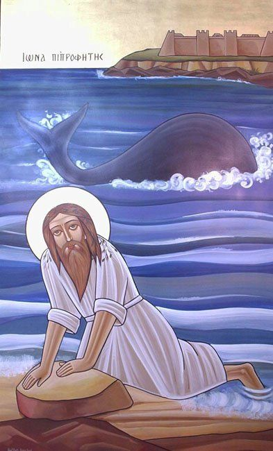 "Jonah is the name given in the Tanakh/Old Testament to a prophet of the northern kingdom of Israel in about the 8th c. BC, also in the Book of Jonah, famous for being swallowed by a whale. Jonah son of Amittai appears in 2 Kings as a prophet from Gathhepher. during the reign of Jeroboam II (c.786-746 BC), where he predicts that Jeroboam will recover some lost territories. He was ordered by God to go to the city of Nineveh to prophesy against it ""for their great wickedness is come up before…"