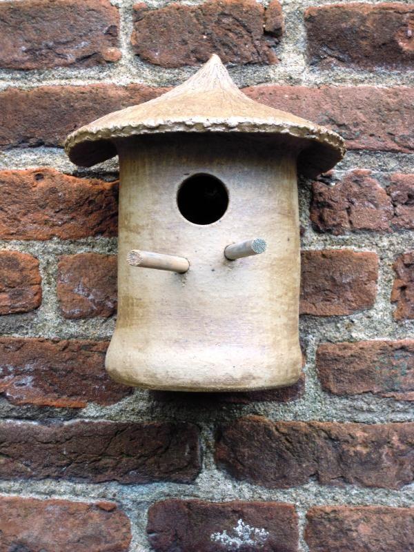 Vogelhuisje nr.1 prijs €.65.- (verkocht)