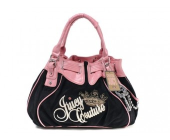 cheap - Cheap Juicy Couture Signature With Silver Key Charm Bags - Black - Wholesale Discount Price    Tag: Discount authentic Juicy Couture handbags Hot Sale, Cheap Juicy Couture Handbags New Arrivals, Original Juicy Couture Purses outlet, Wholesale Juicy Couture bags store