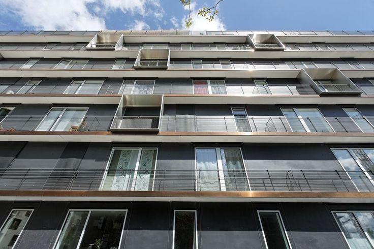 70° Sud, à Boulogne-Billancourt - MOA : Nacarat - Architecte : LAN
