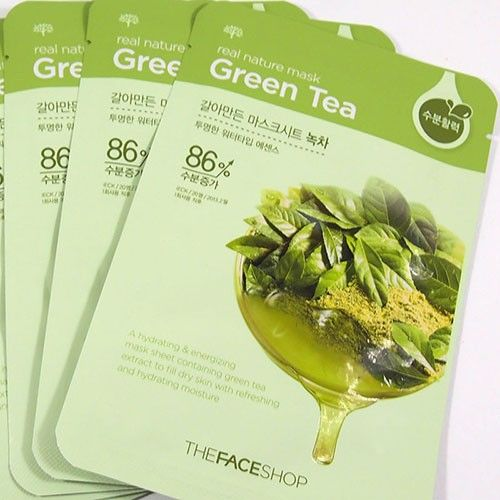 the face shop sheet mask