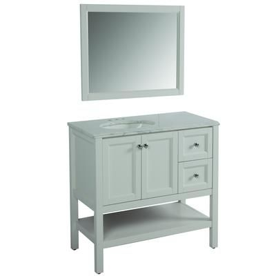 Luxury Fairmont Designs Bathroom 48 Inches Open Shelf Vanity 1506VH48 At