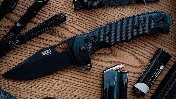 SOG SEAL Pup XR - новый утилитарный складной нож | Outdoor