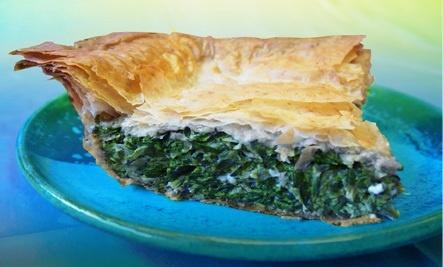 Spanakopita (Spinach Pie) -