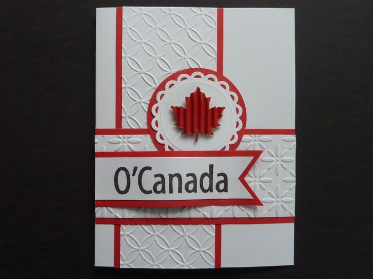 SC494 Happy Birthday Canada by Mrs Noofy - Cards and Paper Crafts at Splitcoaststampers
