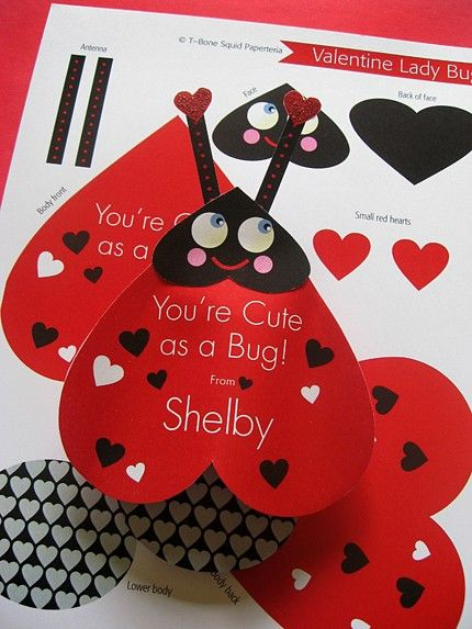 valentine's day cards for word