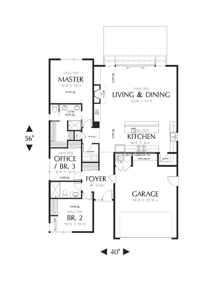 17 Best images about Houseplans 3 bedroom on Pinterest Ranch