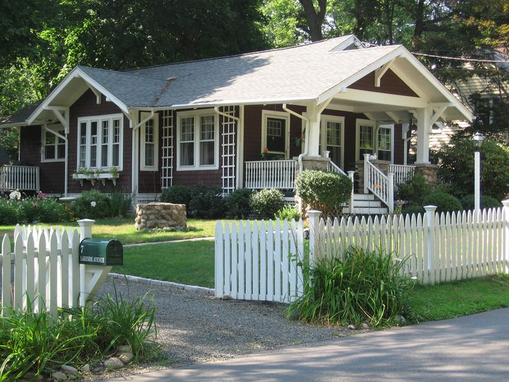 80 best images about craftsman bungalow love on for Craftsman style fence