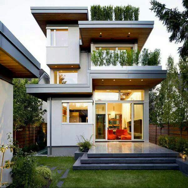 Best HOUSES Modern Images On Pinterest Architecture - Two storey house exterior design