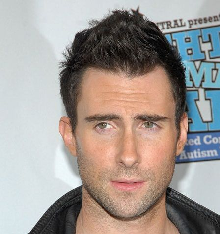 A Messy Faux Hawk. Or An Excuse To Pin Adam Levine.