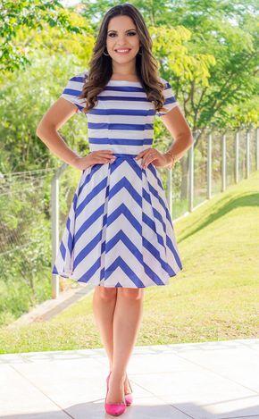 Blog da Paola: Look do Dia: Vestido Lady Like Jany Pin